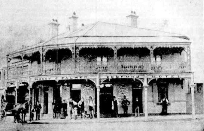 Bedford Hotel Redfern 1890