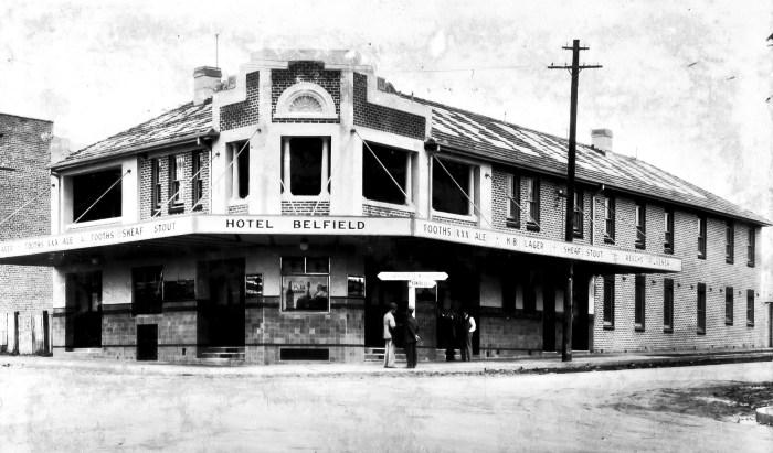 Belfield Hotel North Belmore NSW 1937 ANU