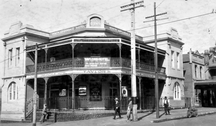North Annandale Hotel Annandale NSW August 1930 ANU