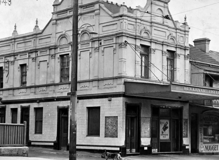 Bellevue Hotel Paddington 1949 ANU