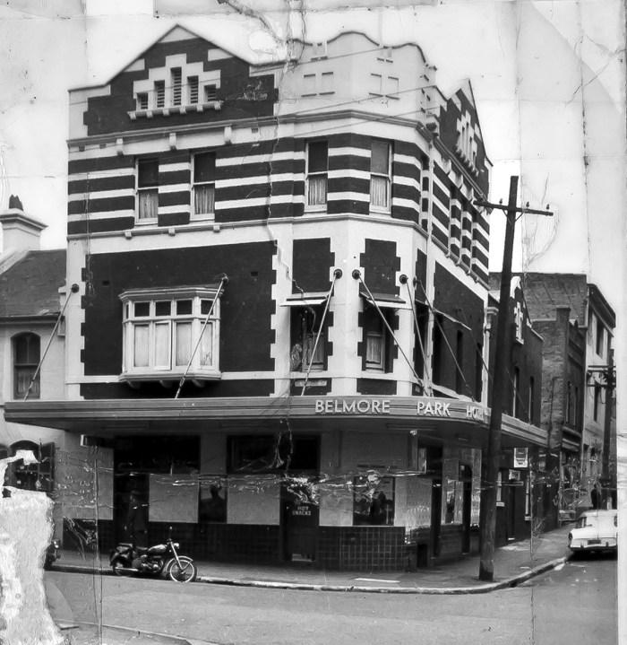 Belmore Park Hotel Surry Hills NSW C1960 ANU