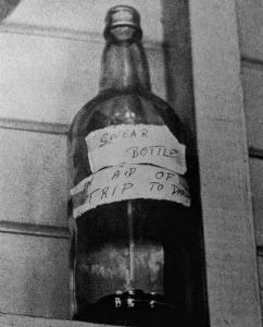 malborough Hotel Central Qld swear bottle
