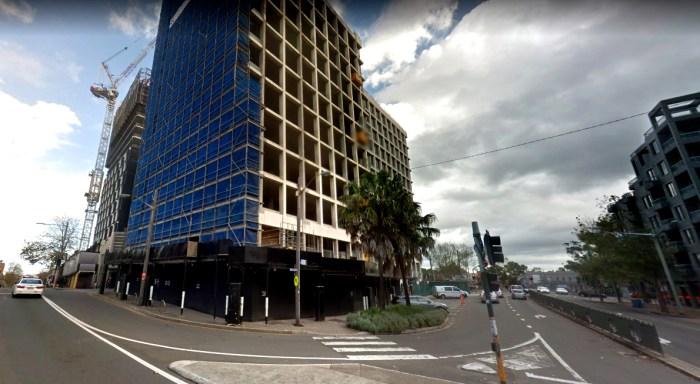 site of bellevue hotel redfern google