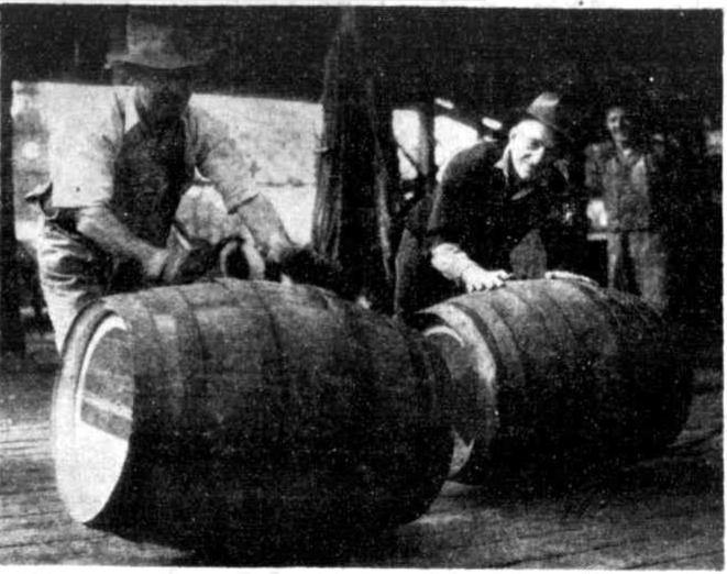 beer strike finished newcastle 1949
