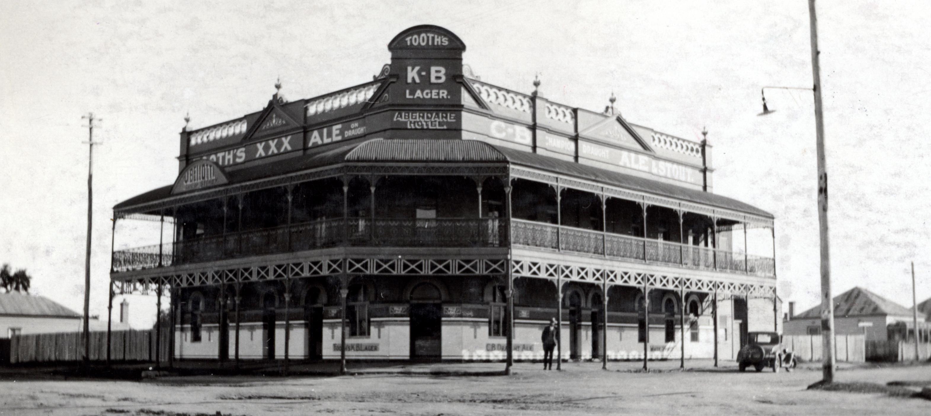 Aberdare Hotel, Weston