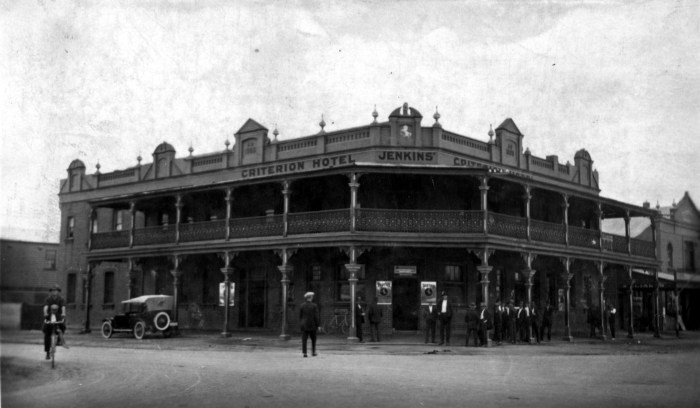 Criterion Hotel Weston 1924 ANU