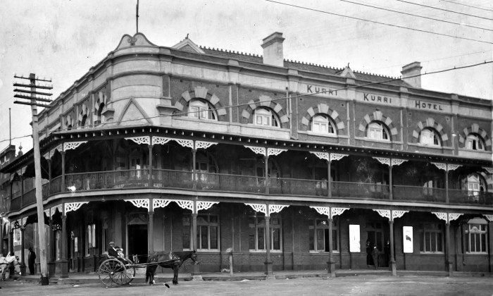 Kurri Kurri Hotel 1924 ANU