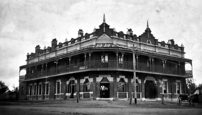 Station Hotel Kurri Kurri 1924 ANU
