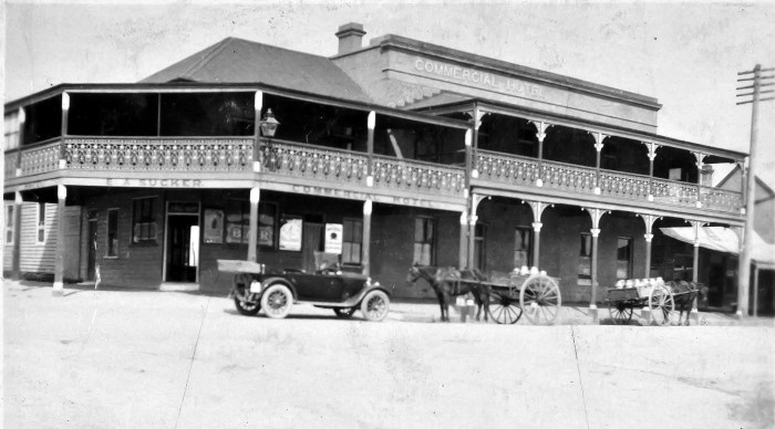 Commercial Hotel Morpeth 1924 ANU