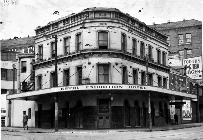 Royal Exhibition Hotel Chalmers StreetSurry Hills 1949 ANU