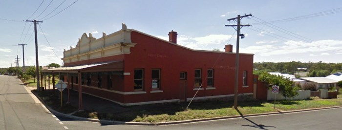 commercial hotel former wedderburn vic google