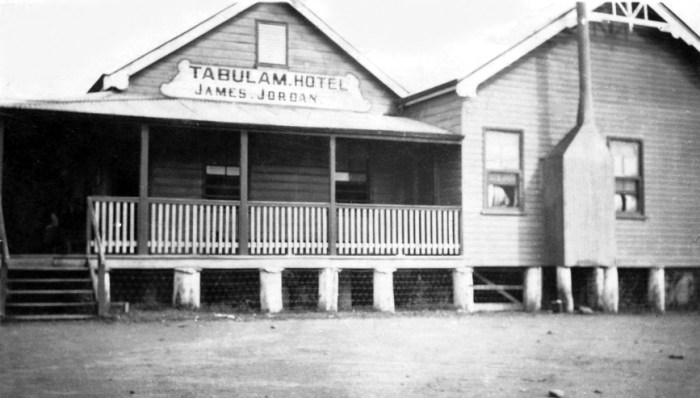 tabulam hotel James Jordan C1920