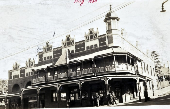 Old Commodore Hotel August 1920 ANU
