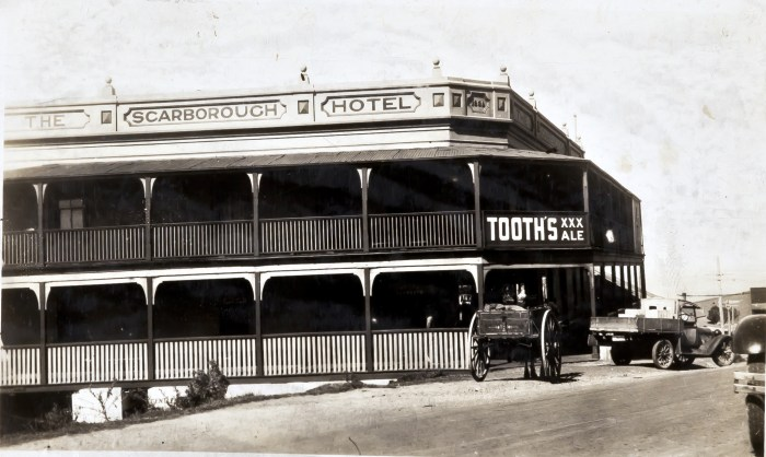 Scarborough Hotel Scarborough NSW March 1930 ANU