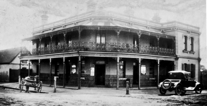 Warwick Farm Hotel LIverpool 1924 ANU