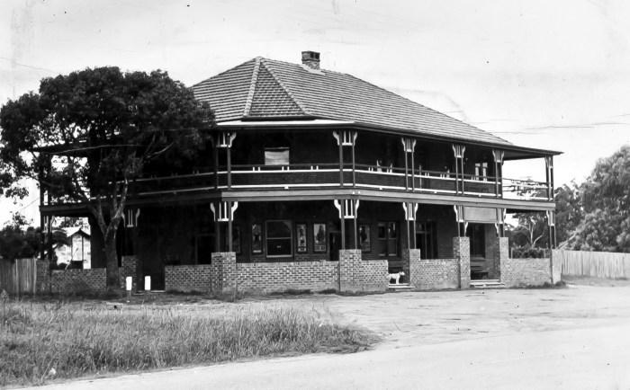 Appin Hotel Appin NSW 1949 ANU