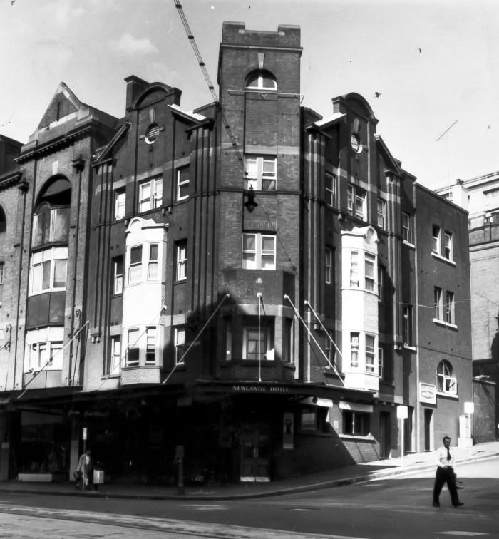 Newcastle Hotel Sydney 1960 anu