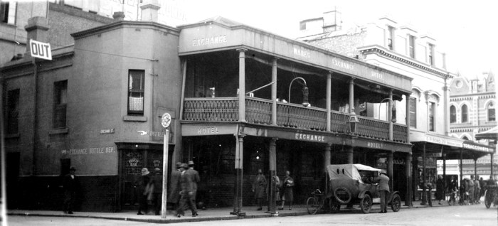 exchange hotel adelaide c1930