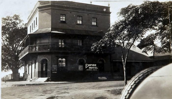 Empire Hotel Nowra 1930 anu