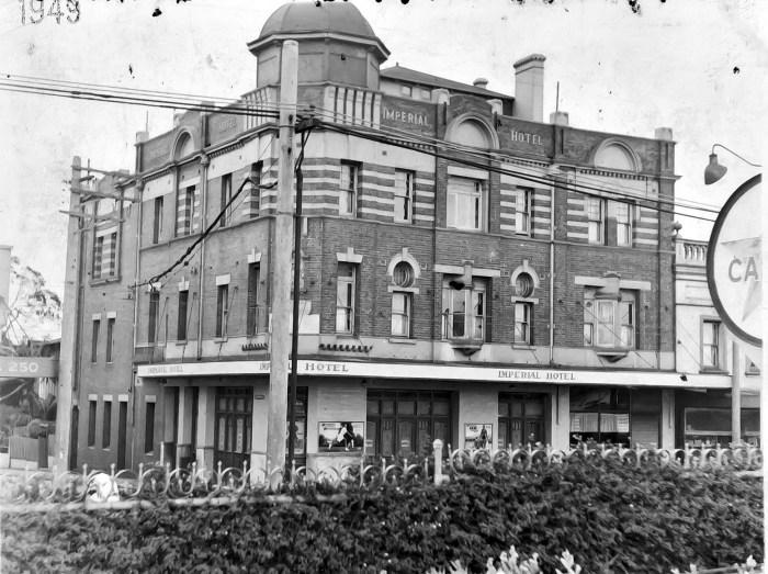 Imperial Hotel Paddington 1949 ANU