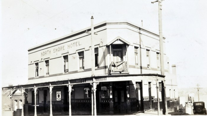 North Shore Hotel McMahons Point North Sydney August 1930 ANU