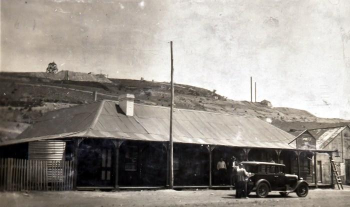 Captains Flat Hotel December 1928 ANU