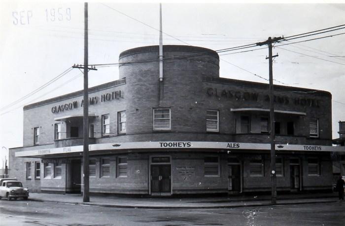 Glasgow Arms Hotel Carrington 1949 ANU