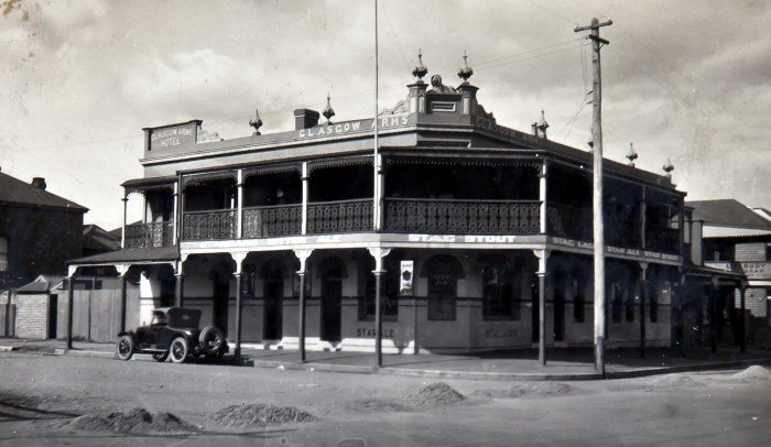 Glasgow Arms Hotel Carrington NSW 1925 ANU