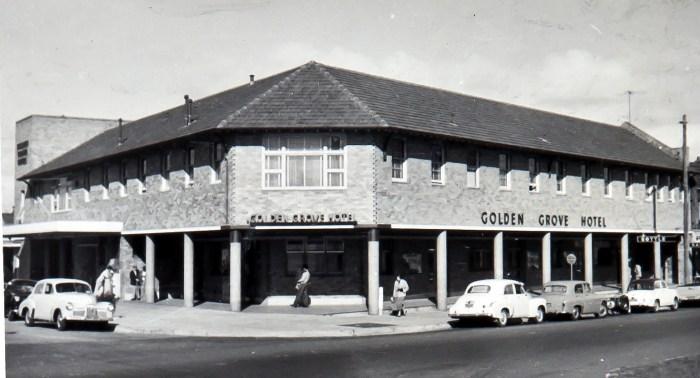 Golden Grove Hotel Maroubra Junction 1960 anu