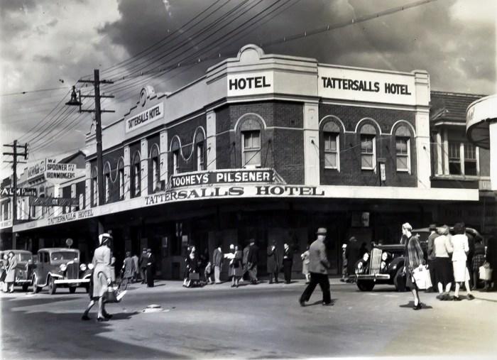 Tattersalls Hotel Parramatta 1949 anu