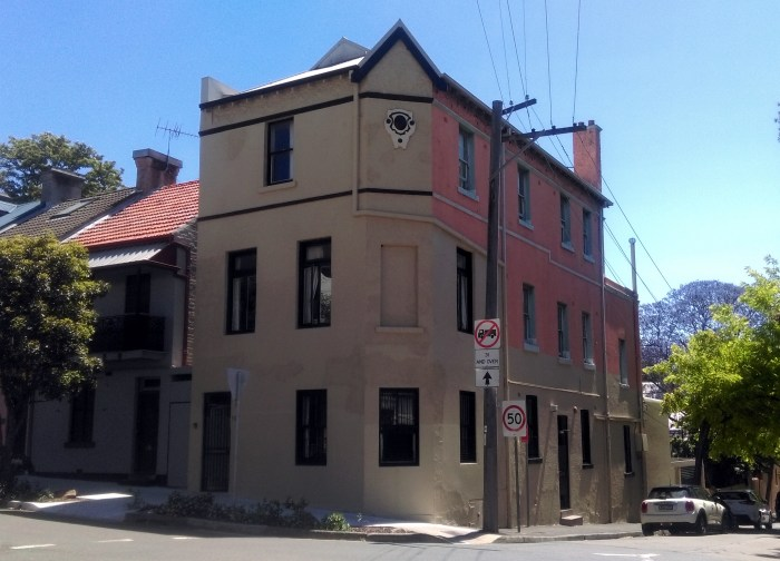 City View Hotel former Redfern 2018 Time Gents