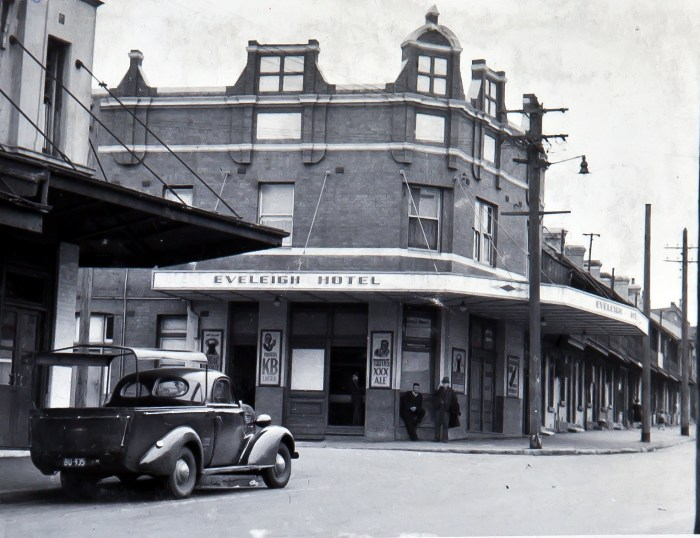 Eveleigh Hotel Redfern 1949 ANU