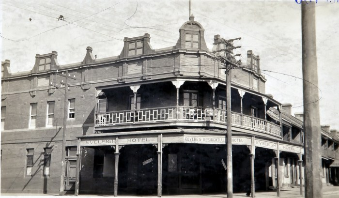 Eveleigh Hotel Redfern October 1930 ANU