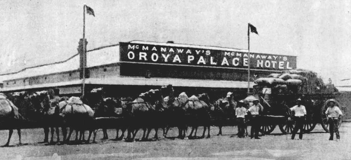 Oroya Palace Hotel, Sandstone