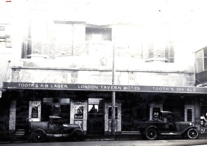 London Tavern Redfern 1931 ANU