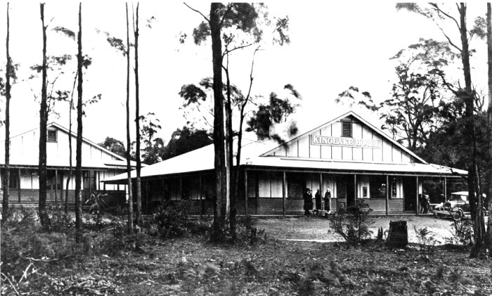 kinglake hotel after the fires