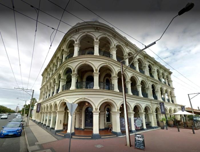 lags hotel lags bay SA Google streetview