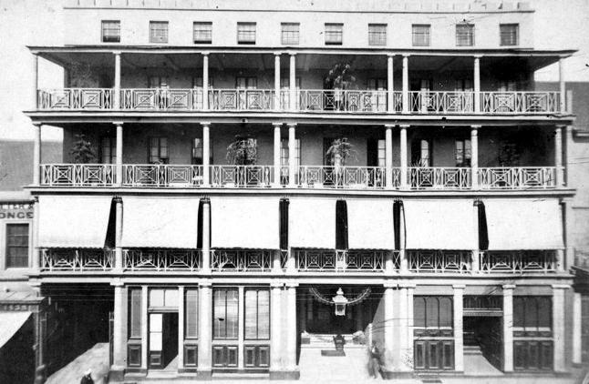 royal hotel george street sydney c1870s