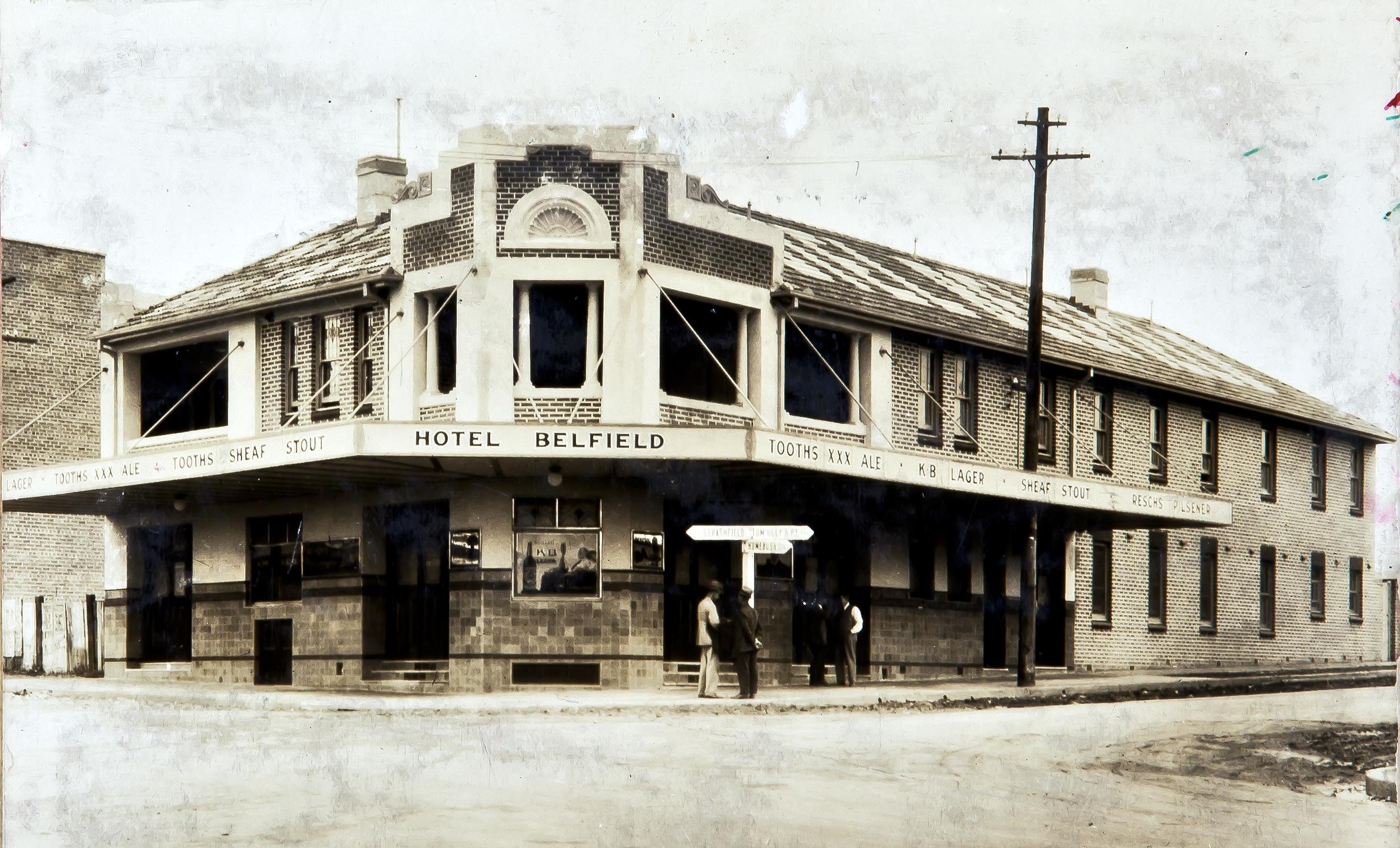 Belfield Hotel, Belfield