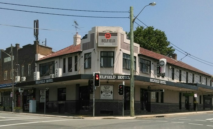 Belfield Hotel Belfield NSW 1