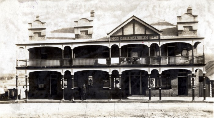 Commercial Hotel Wallerawang june 1925 anu