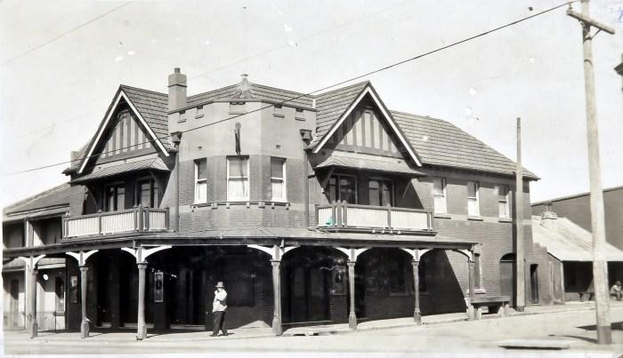 Glenroy Hotel Alexandria october 1930 anu
