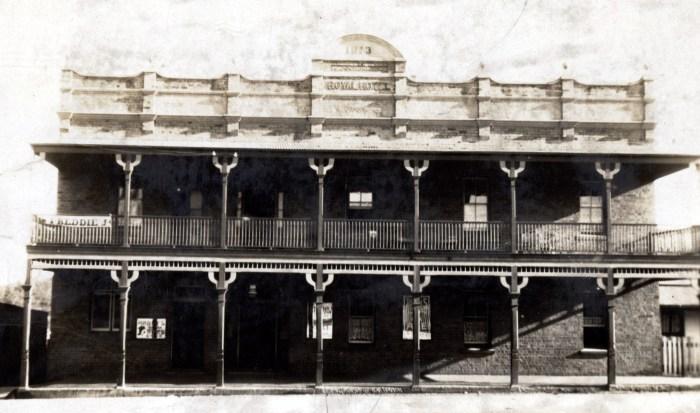 Royal Hotel Wallerawang 1925 anu