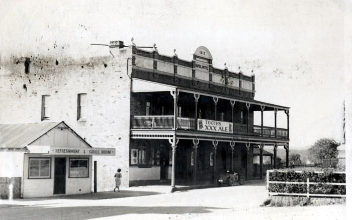 Royal Hotel Wallerawang 1949 anu