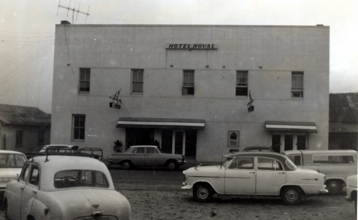 Royal Hotel Wallerawang 1970 anu