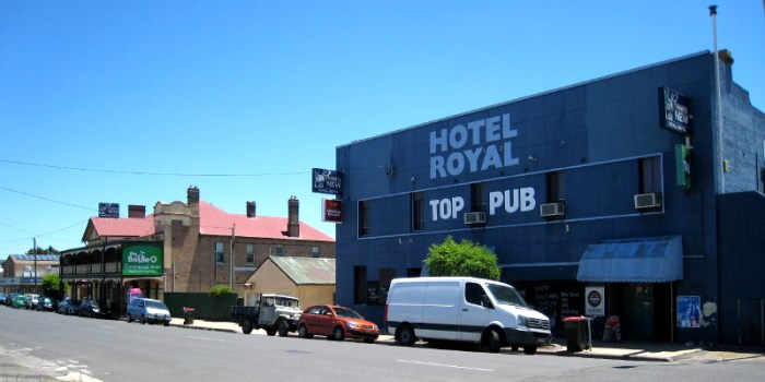 royal and commercial hotels 1 wallerawang nsw