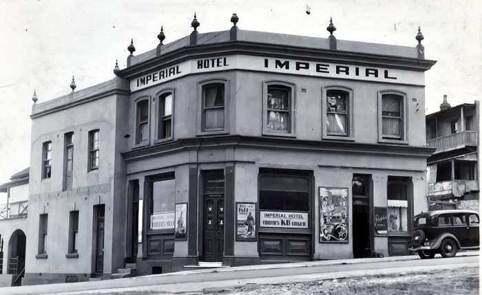 Imperial Hotel Milsons Point North Sydney 1949 anu