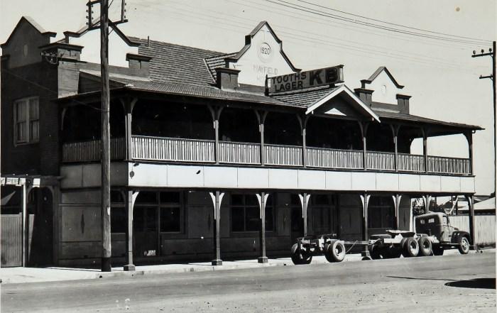 Mayfield Hotel Mayfield 1949 anu