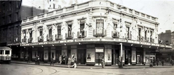 Paragon Hotel Circular Quay 1937 anu