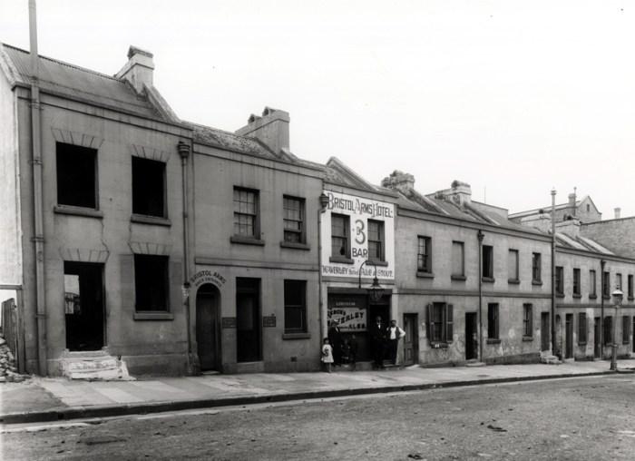 Bristol Arms Sussex Street Back Entrance 1 C1900